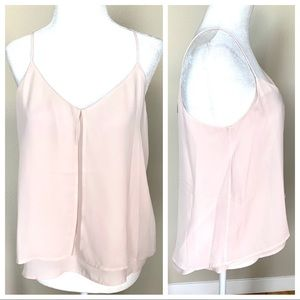 w/TAGs Sleeveless Layered BLOUSE Top Thank Top